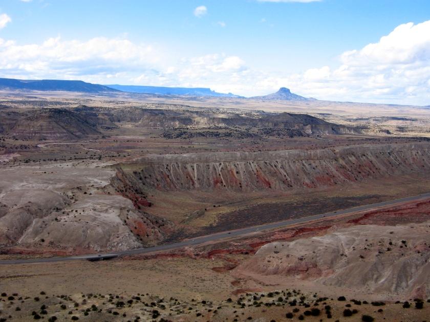 Cabazon Peak to the northwest, across Hwy 550.