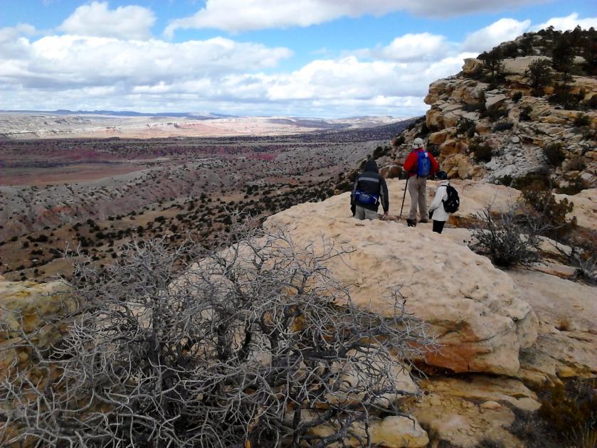 Mesa edge view.