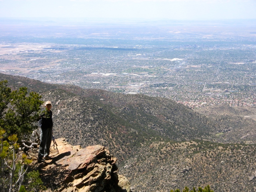 View of Albuquerque.