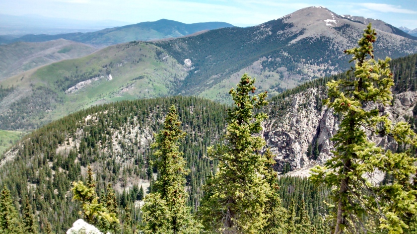 Another view of Santa Fe Baldy.
