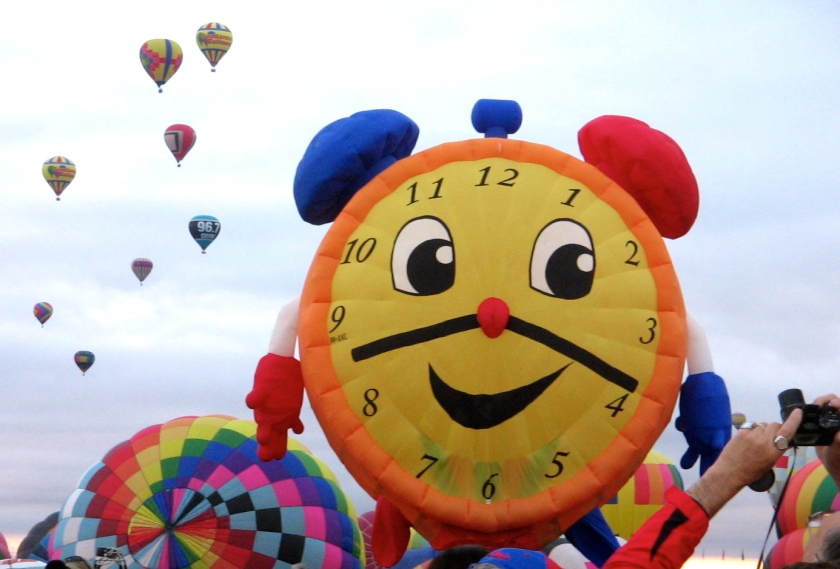 Time for Balloon Fiesta.