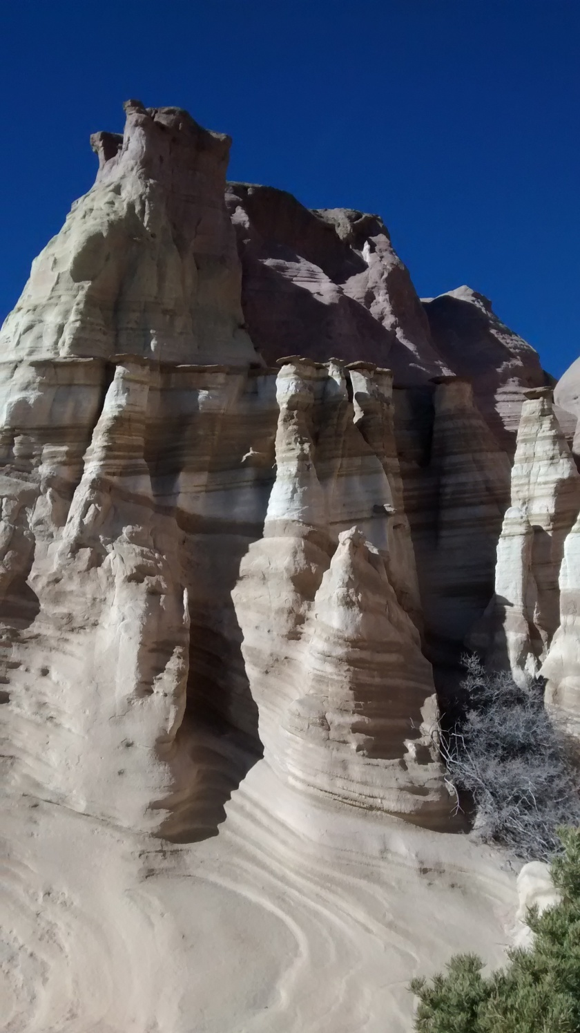 Reminded us of some of the formations at Tent Rocks.