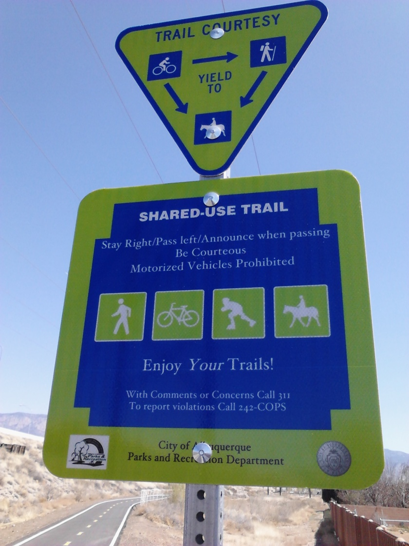 Thank you, Albuquerque, for the many good trails.