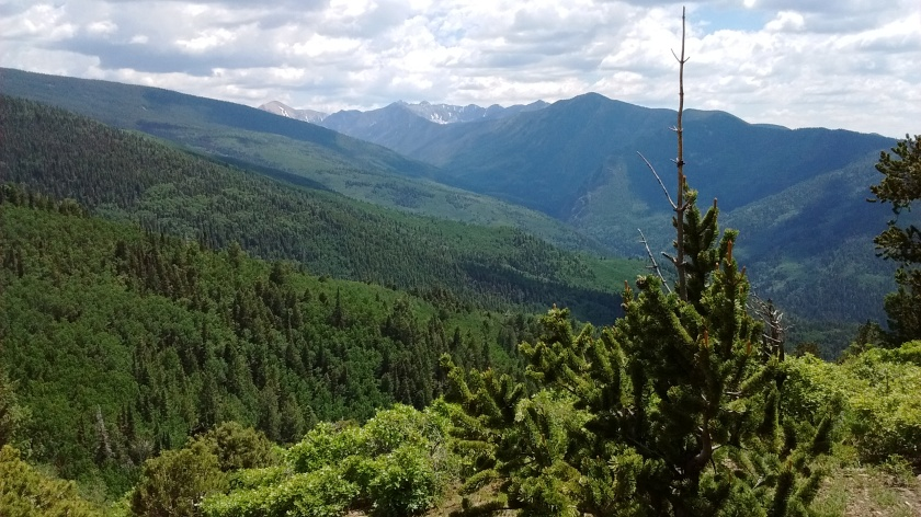 Pecos Wilderness views.