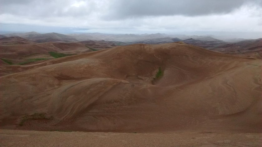 These dunes are massive.  We only saw a small portion of them.