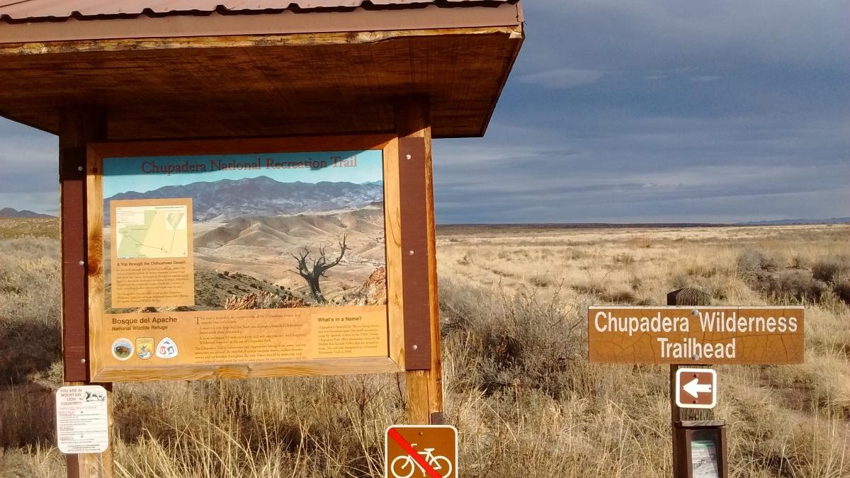 Chupadera Wilderness Trail
