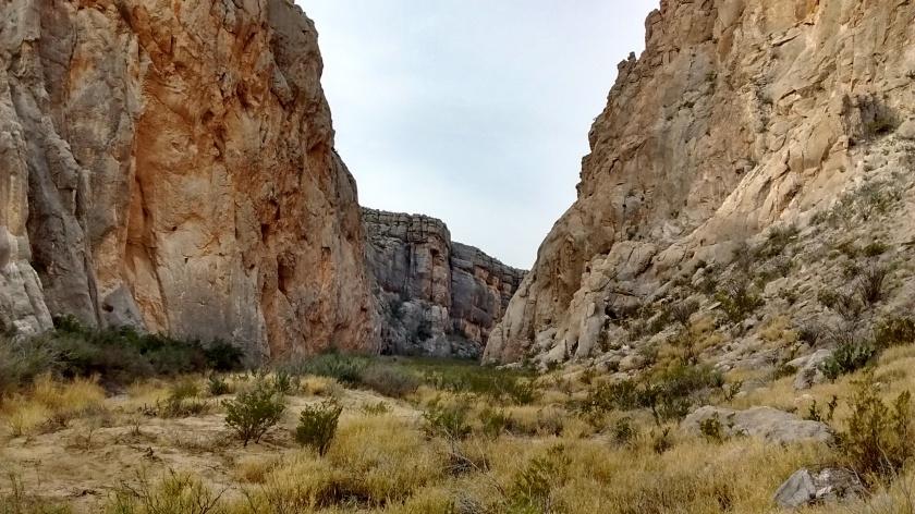 Approaching Dog Canyon.