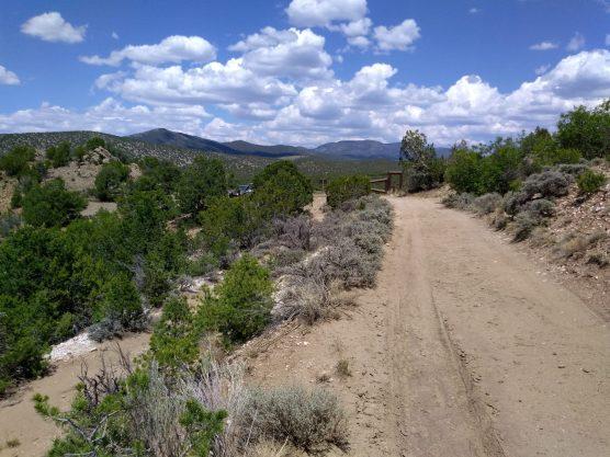 Entrance into Harding Pegmatite Mine.