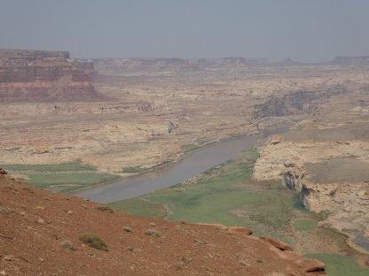 Colorado River crossing at Hite.