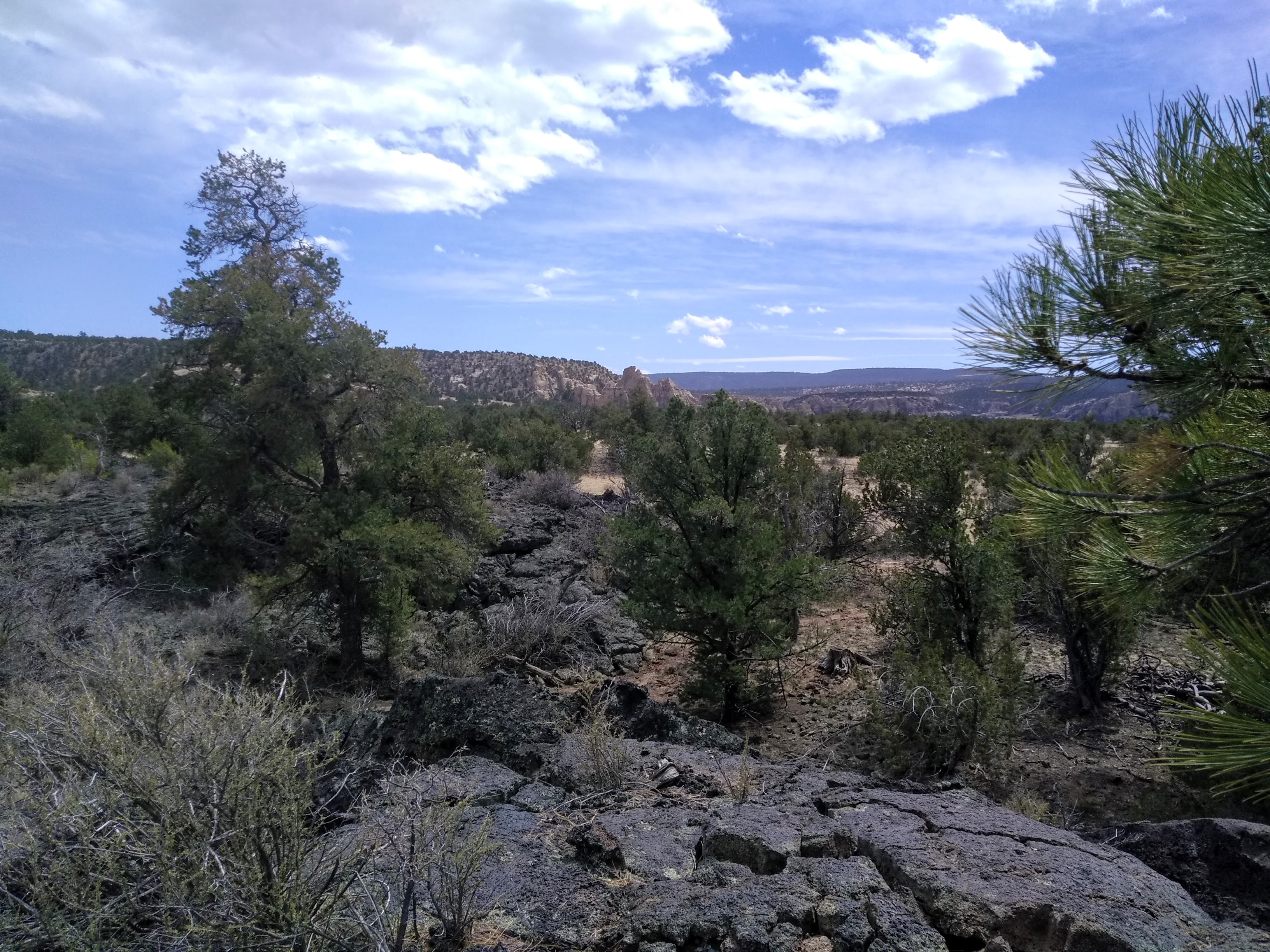 Hiking on Los Caballos